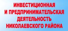 Инвестиционная и предпринимательская деятельность Николаевского района